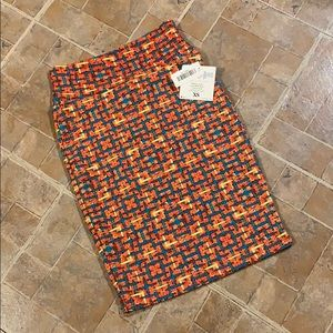 NWT LuLaRoe Cassie skirt size women's extra small